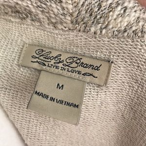 Lucky Brand Sweaters - Lucky Brand-open front sweater, like new, size M